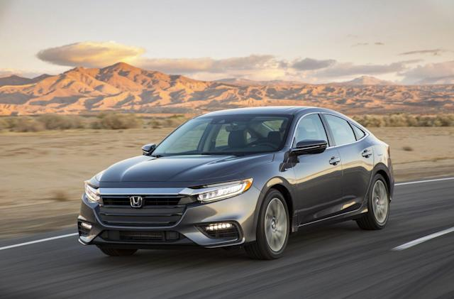 Honda unveils the 2019 Insight, its new upscale hybrid sedan
