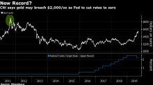Citigroup Says Gold May Top Record