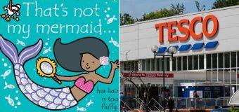 Tesco stops selling 'racist' mermaid T-shirt