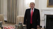 Trump is Mclovin' it