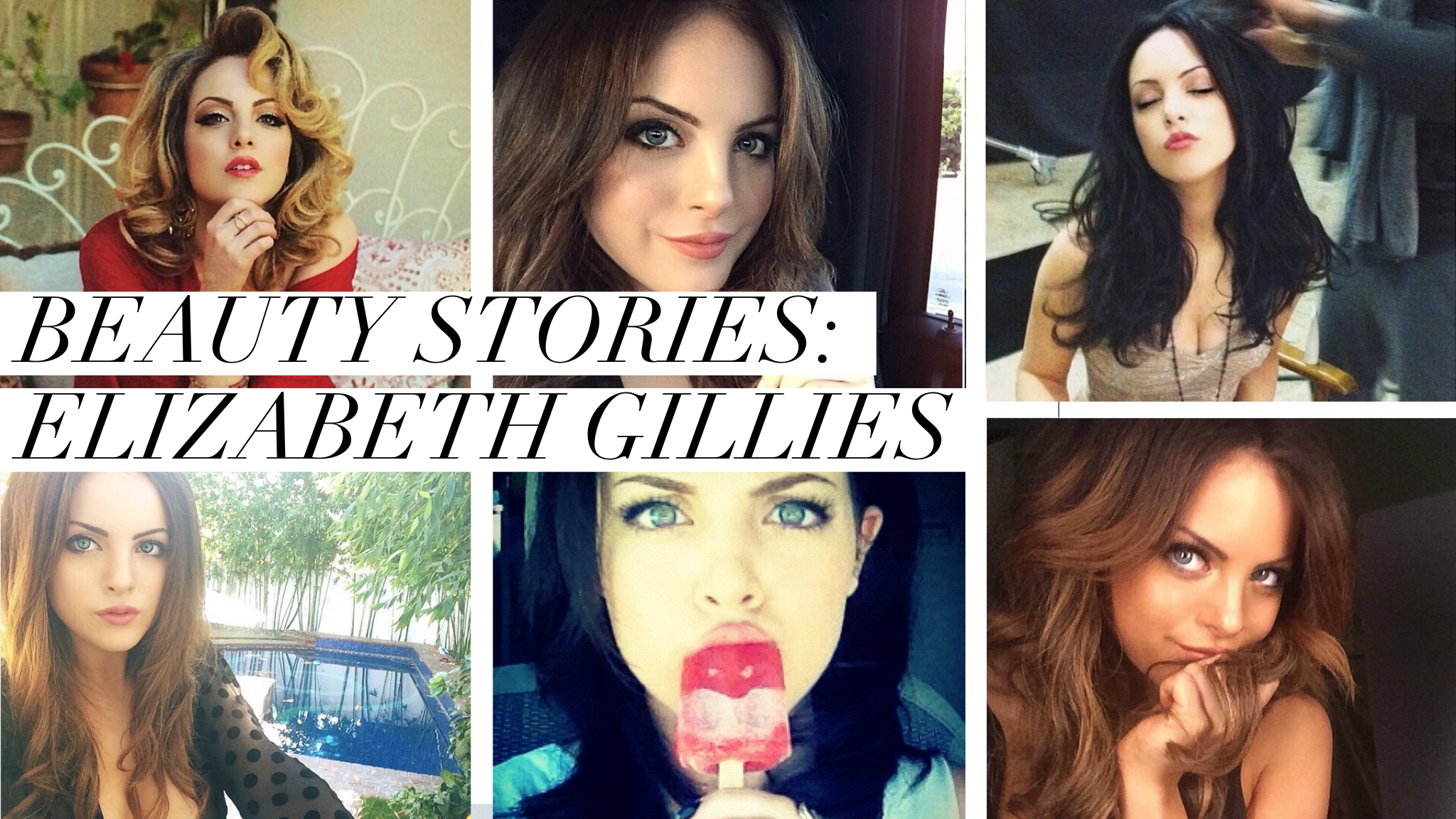 Elizabeth gillies sex stories