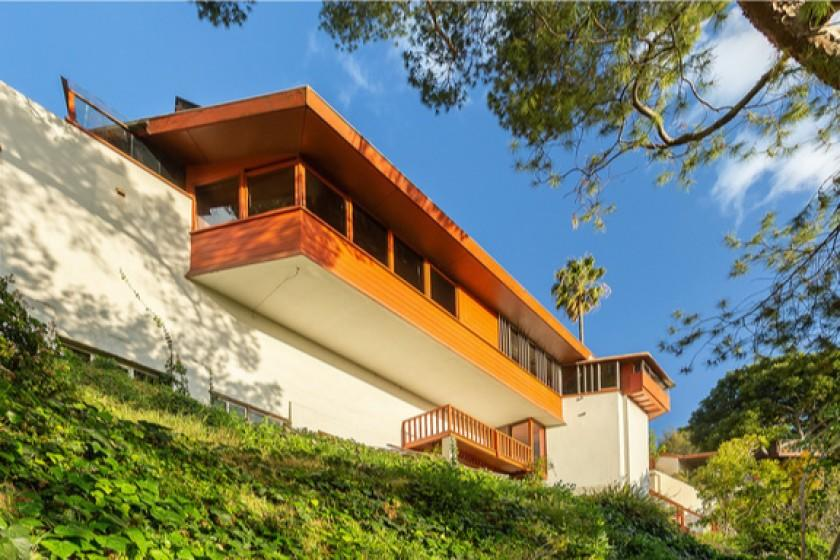 John Lautner's personal home sells in Silver Lake