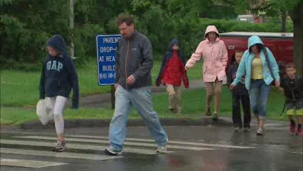 Threat prompts lockdown of schools in Newtown