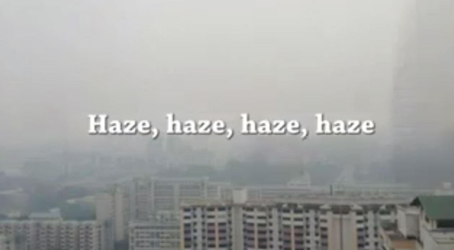 'Haze Song' helps Singaporeans laugh through the coughs as air quality plunges