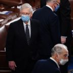 U.S. Senate Republican leader McConnell says Trump 'provoked' Jan. 6 riot
