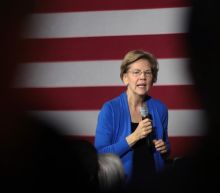 Elizabeth Warren says Kamala Harris and Kirsten Gillibrand regularly check in on her