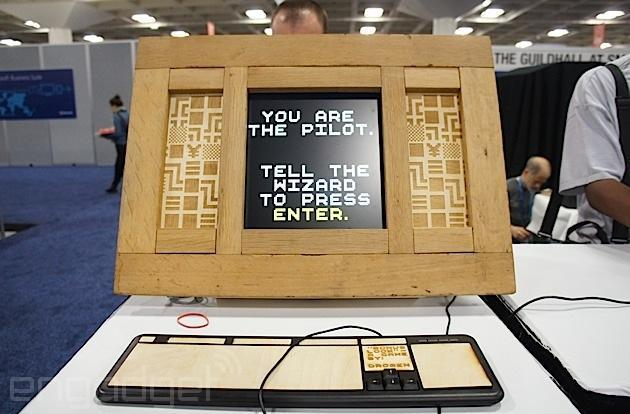 GDC's alternative arcade: a gallery of crazy, homemade game controllers