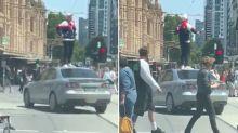 Heavily armed police lock down Melbourne CBD, man arrested