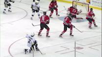 Matt Niskanen hammers one past Brodeur