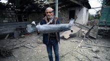 Karabakh main city struck as Armenia says 'ready' for mediation