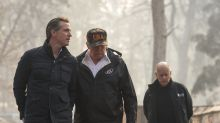 'How awkward': Donald Trump surveys California fire damage with Gavin Newsom, who was once married to Don Jr.'s girlfriend