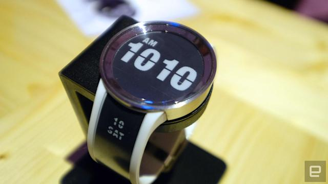 Sony's new e-paper watch actually looks like a timepiece