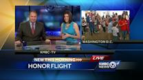 Honor Flight veterans arrive in Washington, D.C.