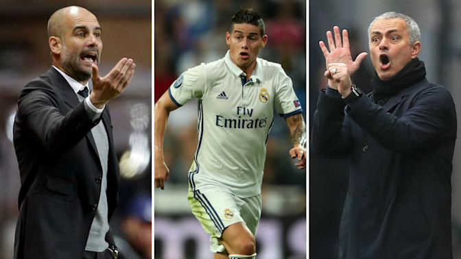 Gossip: Man City rebuild takes shape, United star 'heading' to Spurs, James to Liverpool?
