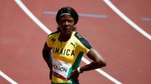 Olympics-Athletics-Jackson out of 200m after rookie heats blunder