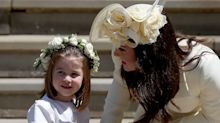 """Kate Middleton was apparently """"in tears"""" after Princess Charlotte's royal wedding dress fitting"""