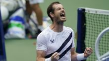 Andy Murray buoyed by support in US Open stands during first-round comeback win