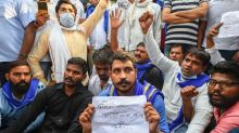 Bhim Army Protests At Safdarjung Hospital, Demands Death Penalty For Hathras Gang-rape Culprits