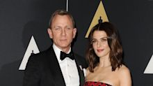We've been expecting you... 007 and wife Rachel, 48, welcome first child