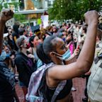 19 captivating images from the week's protests over George Floyd's death