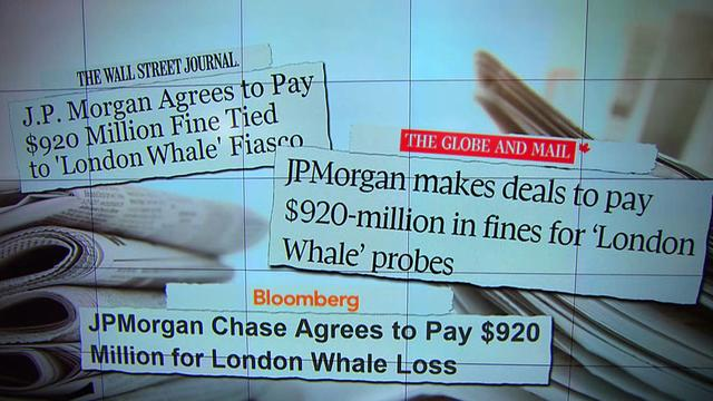 J.P. Morgan to pay $920 million in trade fine
