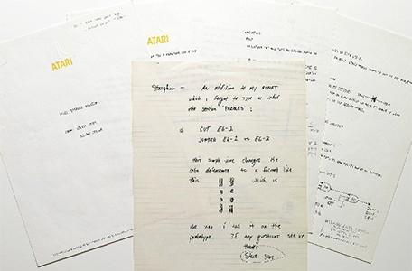 Sotheby's selling original Steve Jobs note to Atari