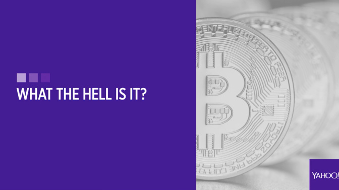 What the hell is bitcoin?
