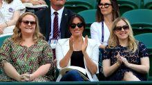 Meghan Markle Supports Pal Serena Williams At Wimbledon