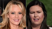Stormy's Virtual Eye-Roll At 'Honest' Huckabee Sanders Has Twitter In Stitches