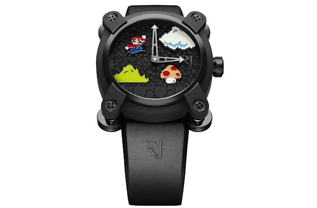 This 'Super Mario Bros.' watch will cost you $18,950