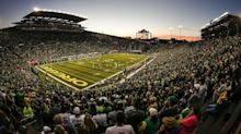 Ducks Spring game will be open to limited fans, food drive will be virtual