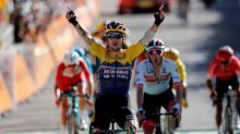 Tour de France: Primoz Roglic shows he is over crash with strong summit win