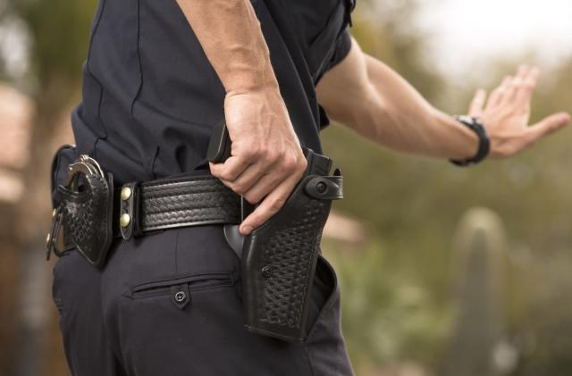 Sensor turns on a cop's body camera when their gun is pulled