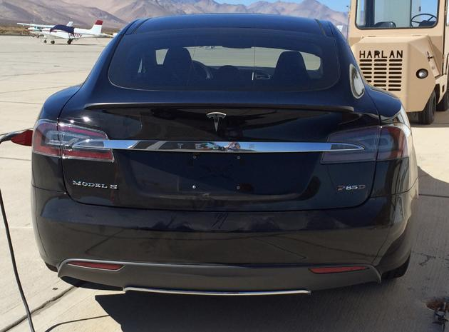 Tesla's upcoming 'D' looks like a souped-up Model S sedan