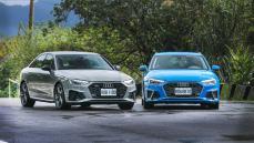 【雙車型試駕】高顏值四環經典!該選quattro嗎?Audi A4 Sedan / Avant