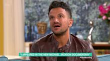 Peter Andre told he was 'incredibly lucky' to lose dance competition to Michael Jackson accuser