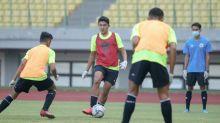 Bek Timnas Indonesia U-16 Masih Canggung Latihan Pakai Sarung Tangan