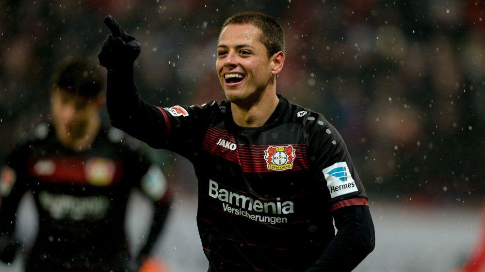 Transfergerücht: West Ham lockt Bayers Chicharito mit Mega-Gehalt