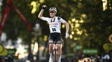 Soren Kragh Andersen wins stage 14 as Peter Sagan cuts Sam Bennett's points lead