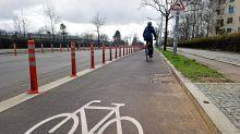 Radweg: Bund der Steuerzahler kritisiert Radweg am Dahlemer Weg