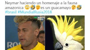 El nuevo look de Neymar llena de memes las redes sociales