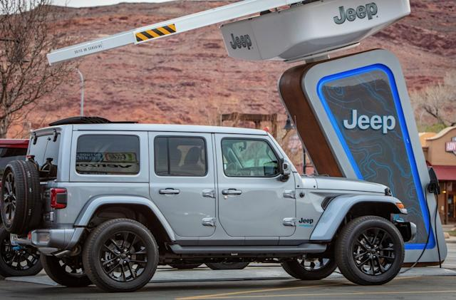 The 2021 Jeep Wrangler Sahara 4xe is a PHEV for trail hounds