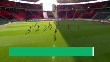 Bayern und Bayer trainieren vor dem Pokal-Fight