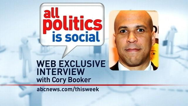 'This Week' Web Extra: Cory Booker