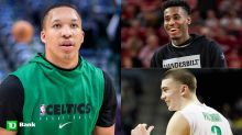 Grant Williams gives Celtics' draft picks a fitting introduction to team
