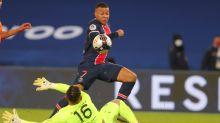 Kylian Mbappe bags a brace as PSG put four past 10-man Montpellier