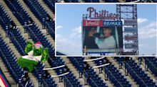 Watching a Yankees hype video in Citizens Bank Park is a peak 2020 sports moment