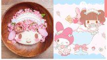 年末彩蛋!東京池袋開設期間限定My Melody Café,粉絲必到朝聖食Melody造型牛肉飯!