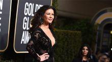 Globos de Oro: Catherine Zeta Jones fue la reina de las transparencias