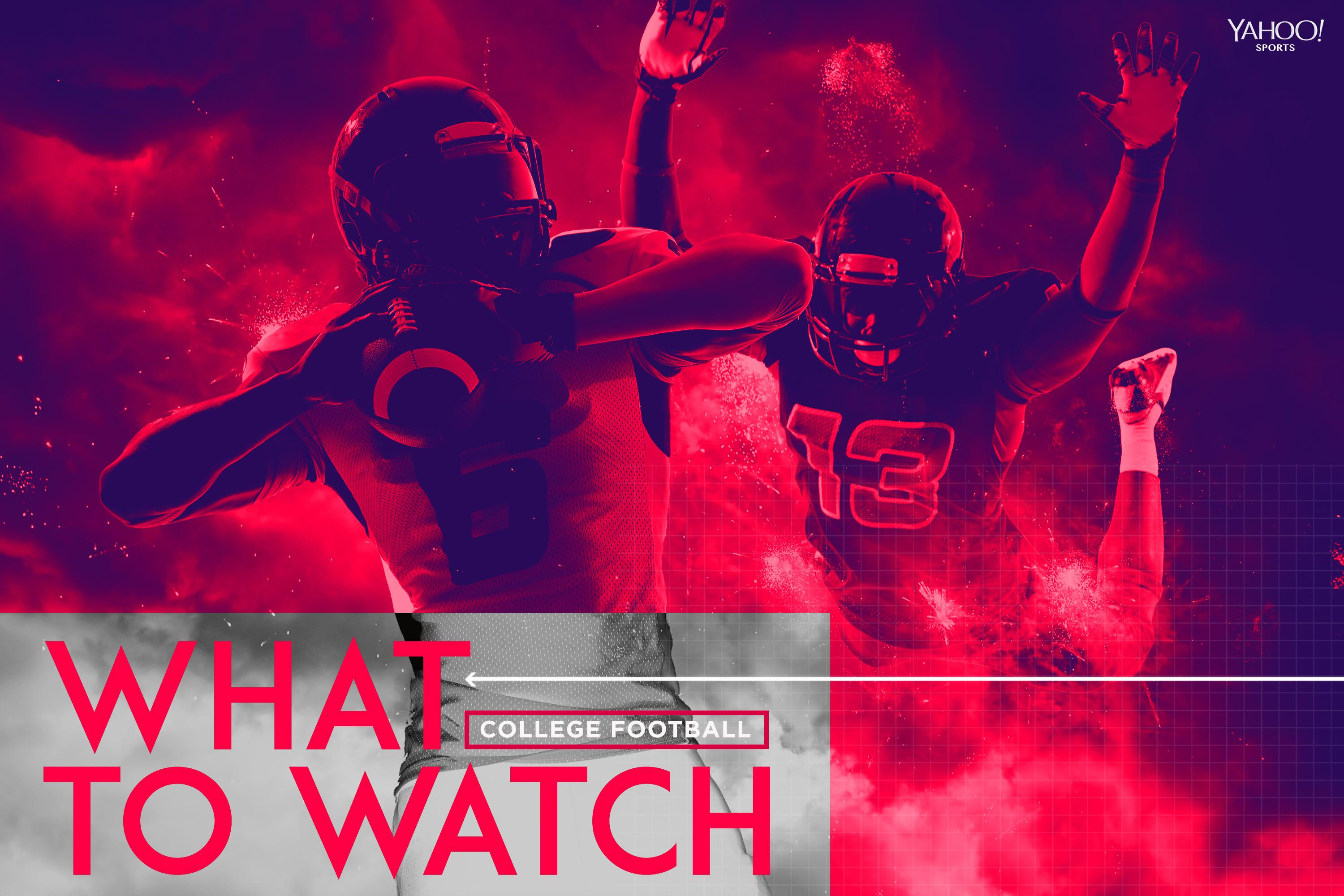 What to watch: Week 10 college football viewing guide, picks against the spread
